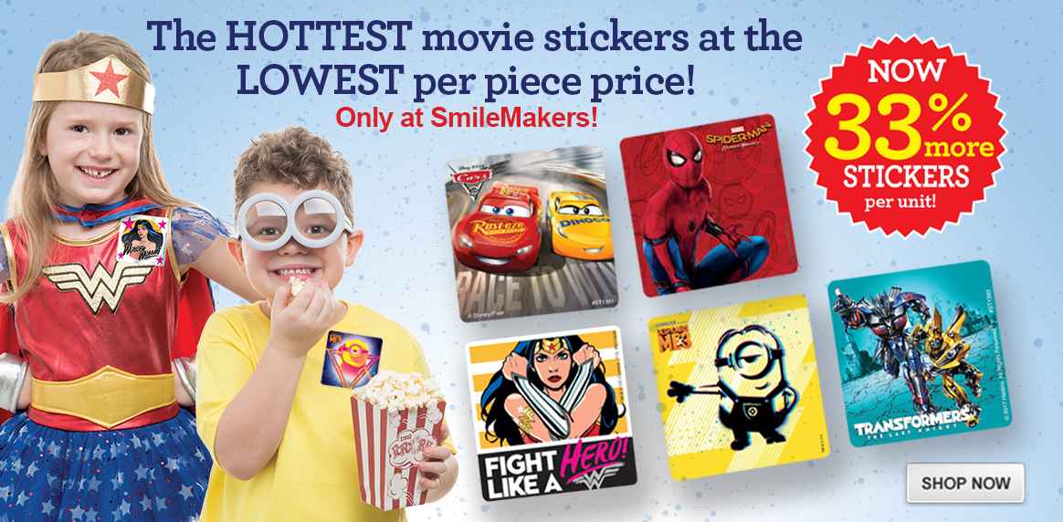 Hot Summer Movie Stickers!