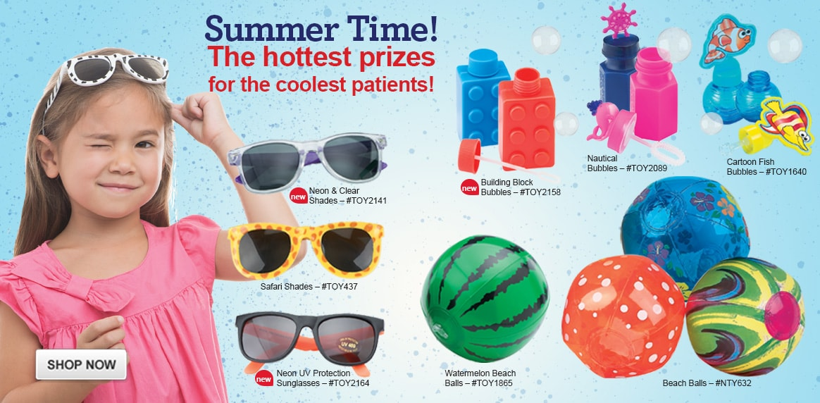 Summer Time Prizes!