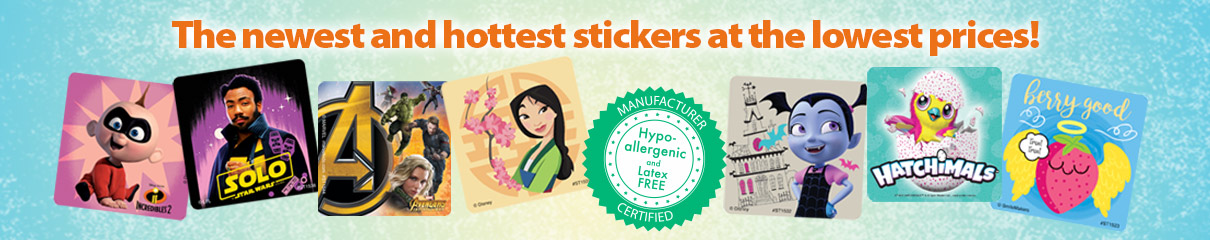 The newest and hottest stickers at the lowest prices!