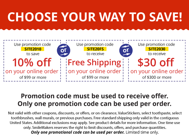 Smilemakers Coupon