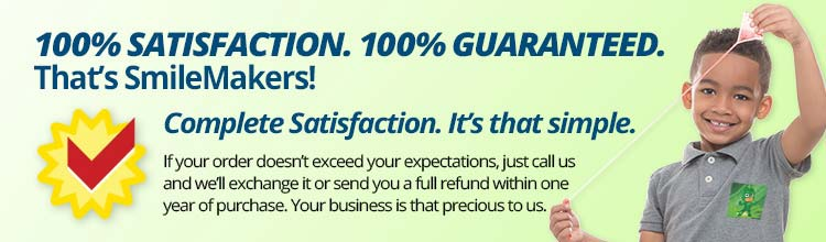 100% Satisfaction. 100% Guaranteed.