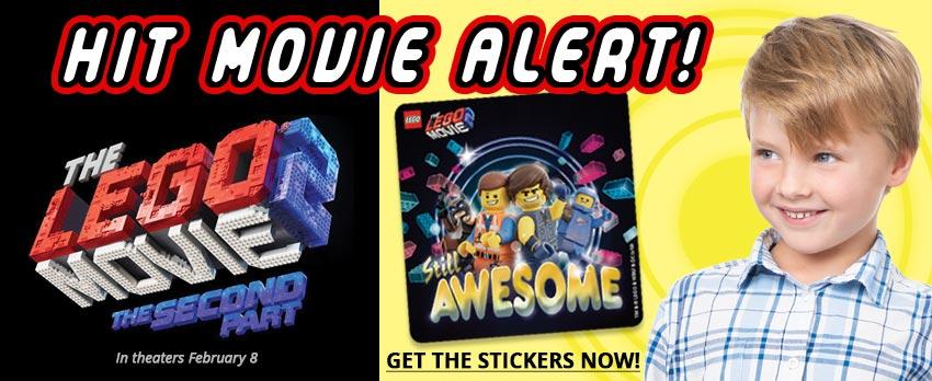 Hit Movie Month! - Lego Movie 2 Stickers