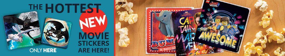 Hot Movie Stickers!