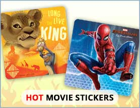 Hot Movie Stickers