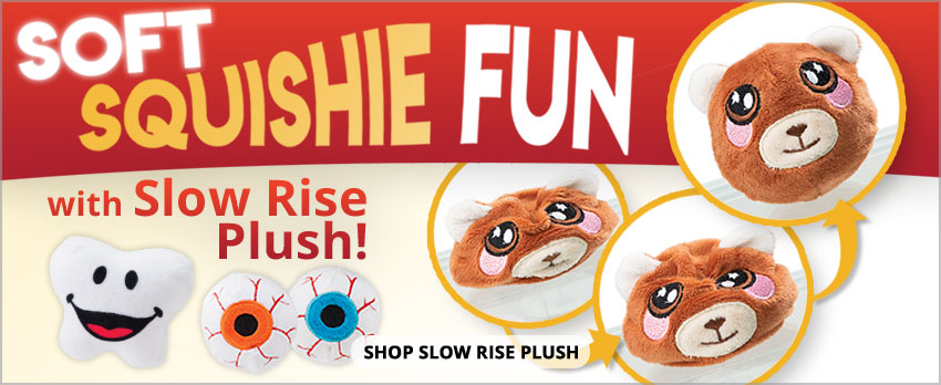 Soft Squish Fun with Slow Rise Plush!