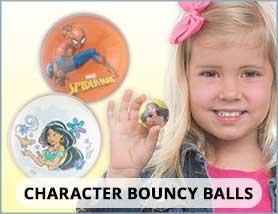 Character Bouncy Balls