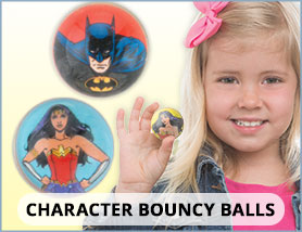 Character Bouncy Balls