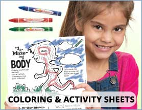 Coloring & Activity Sheets
