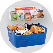 Toy and Sticker Storage