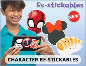 Character Re-Stickables
