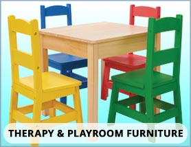 Therapy Room and Play Storage
