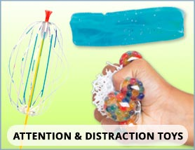 Attention and Distraction Toys