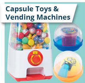 Capsule Toys & Vending Machines