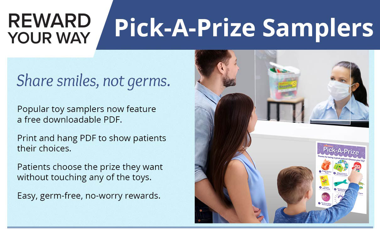 Rewward Your Way - Pick-a-Prize Samplers