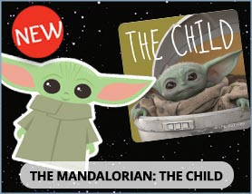 Mandalorian: The Child Stickers