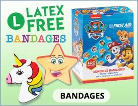 Latex Free Bandages