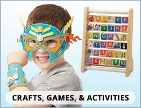 Crafts, Games & Activities