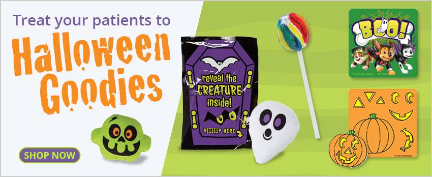 Treat your patients to Halloween goodies!