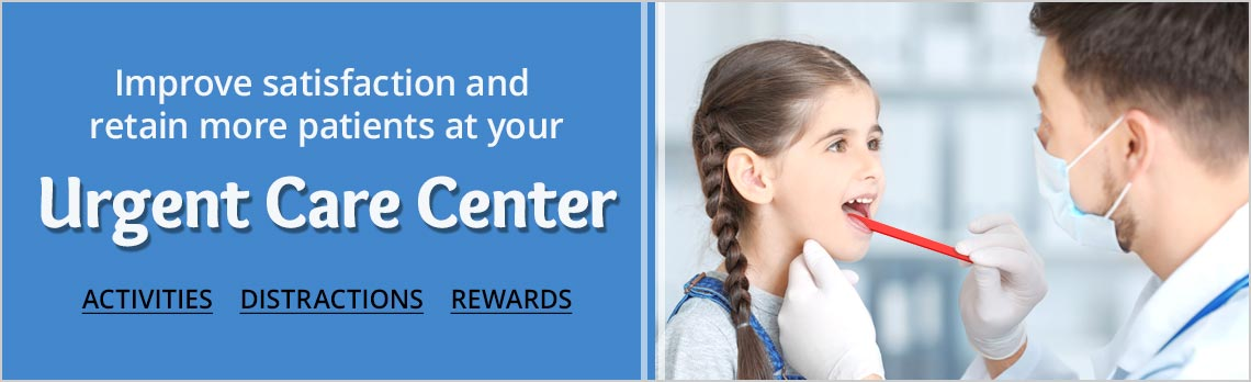 Improve Patient Satisfaction with activities, distractions and rewards