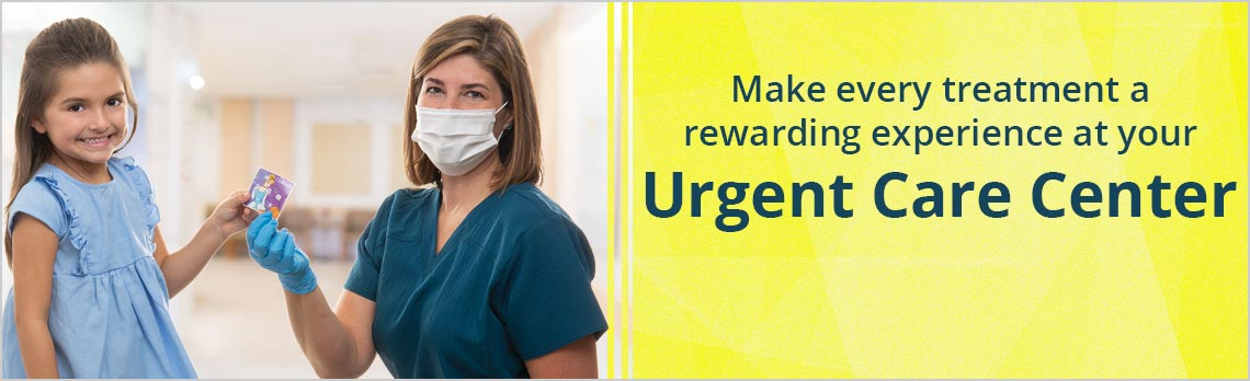 Make every treatment a rewarding experience at your Urgent Care Center.