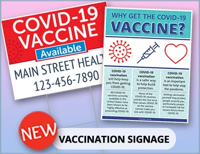 Vaccination Signage