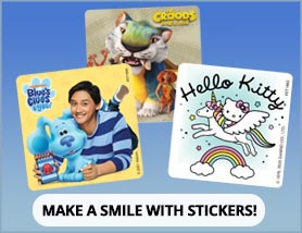 Make a Smile with Stickers