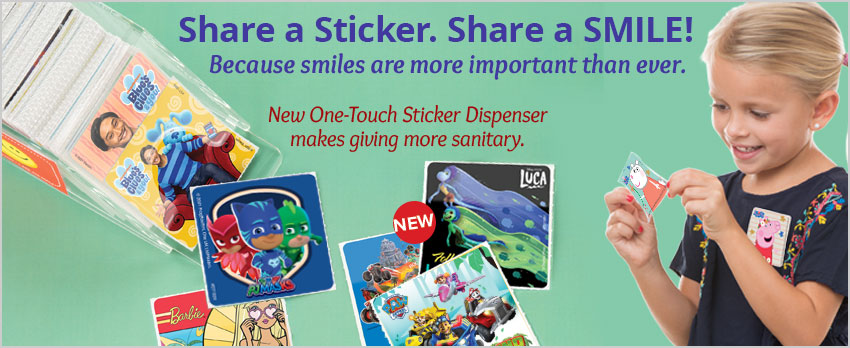 Share a Smile with Stickers