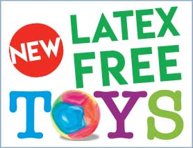 Latex Free Toys