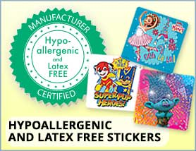 Character Stickers-Hypo/Latex Free