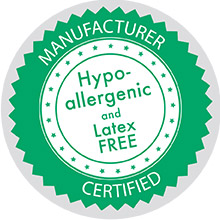 Hypoallergenic and Latex Free Stickers