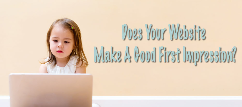 Does your website make a good first impression?