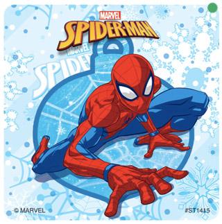 Spider-Man Winter Stickers