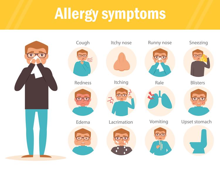 Image result for image of Eliminate Allergens