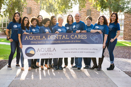 Aquila Dental Cares… And You Should, Too!