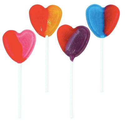 Dum Dum Hearts Pops